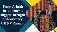 People's faith in judiciary is biggest strength of democracy: CJI NV Ramana