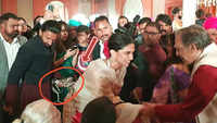 Ranveer Singh carries wife Deepika Padukone's sandals