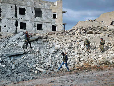 Syrian weapons depot struck by Israeli forces