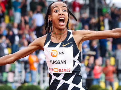 Sifan breaks women's 10,000 metres world record at Gold event
