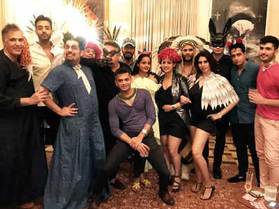 Sandeep Khosla throws a Met Gala theme birthday dinner