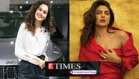 Taapsee Pannu buys a swanky car for sister; Look at birthday girl Priyanka Chopra's iconic roles, and more…