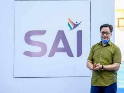 Kiren Rijiju unveils new logo of Sports Authority of India