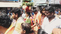 Bonalu festivities with Jogini Shyamala Devi
