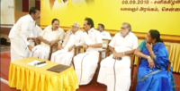 Meeting held by MK Stalin with DMK district secretaries, MLAs and MPs