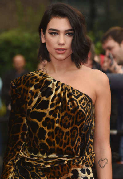 Fans 'waving LGBT flags' removed from Dua Lipa's Shanghai concert