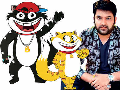 Kapil Sharma enters the animated world with funny cats Honey and Bunny