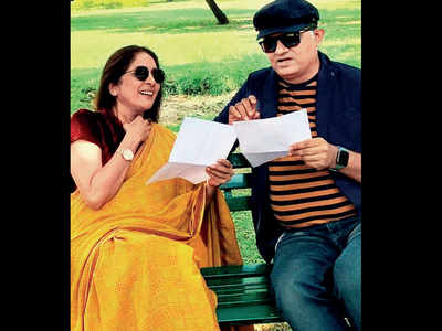 Neena Gupta and Gajraj Rao are Bollywood's newest jodi