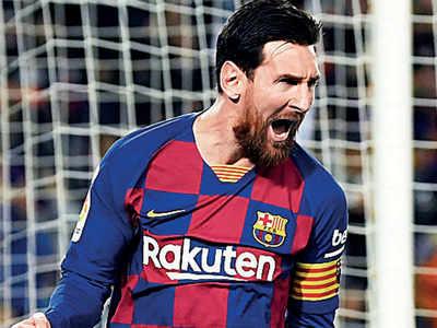 La Liga chief isn't perturbed by Messi's potential exit