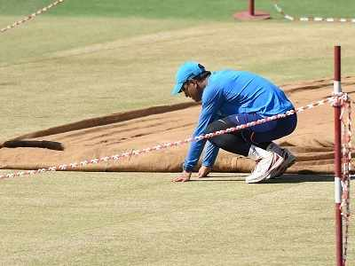 Pune pitch scandal: BCCI suspends curator Pandurang Salgaoncar after tampering claims