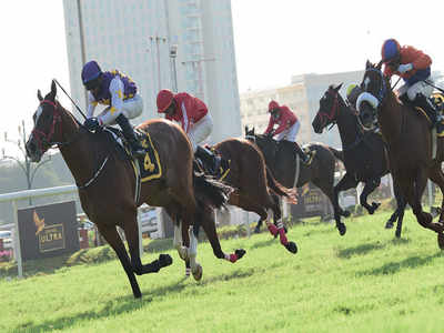 Chouhan steals the show in horse race
