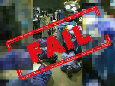 Fake alert: Still from TV series viral saying it shows doctors, nurses dead in Italy
