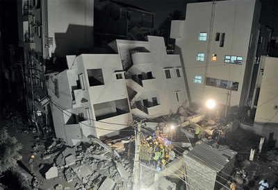 Thyagarajanagar building collapse kills 22-year-old