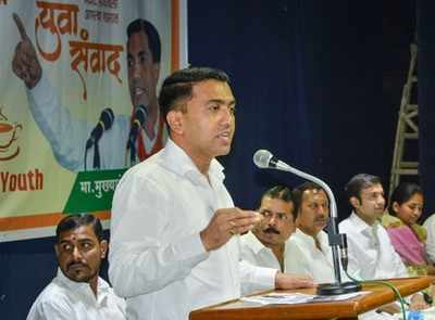 CM Pramod Sawant: Goans won't be given entry into casinos from February 1
