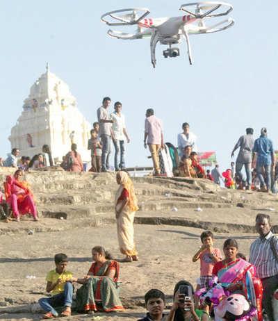 Bengaluru on a drone alert
