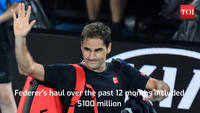 Roger Federer tops list of world's highest-paid athletes