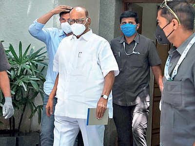 Sharad Pawar reviews COVID situation in city