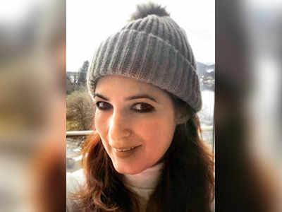 Twinkle Khanna enjoying a solo break in Austria