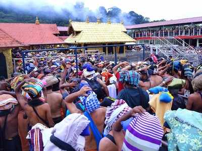 COVID effect on Sabarimala: Pilgrims footfall dips from 3 lakh to 9,000