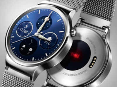 Huawei enters wearable segment with smartwatch