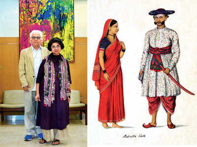 Shilpa and Praful Shah have devoted their life to hand-crafted textiles and art that tell the India story
