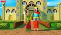Kids Story | Nursery Rhymes & Baby Songs - 'King And The Queen' - Kids Nursery Stories In Bengali
