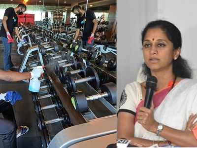 Gyms need to be re-opened, many have invested heavily: Supriya Sule to CM Uddhav Thackeray