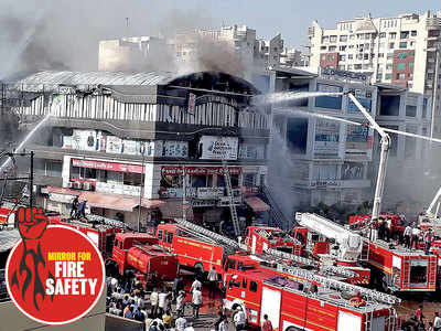 At least 20 students killed due to fire outbreak in Surat coaching institute