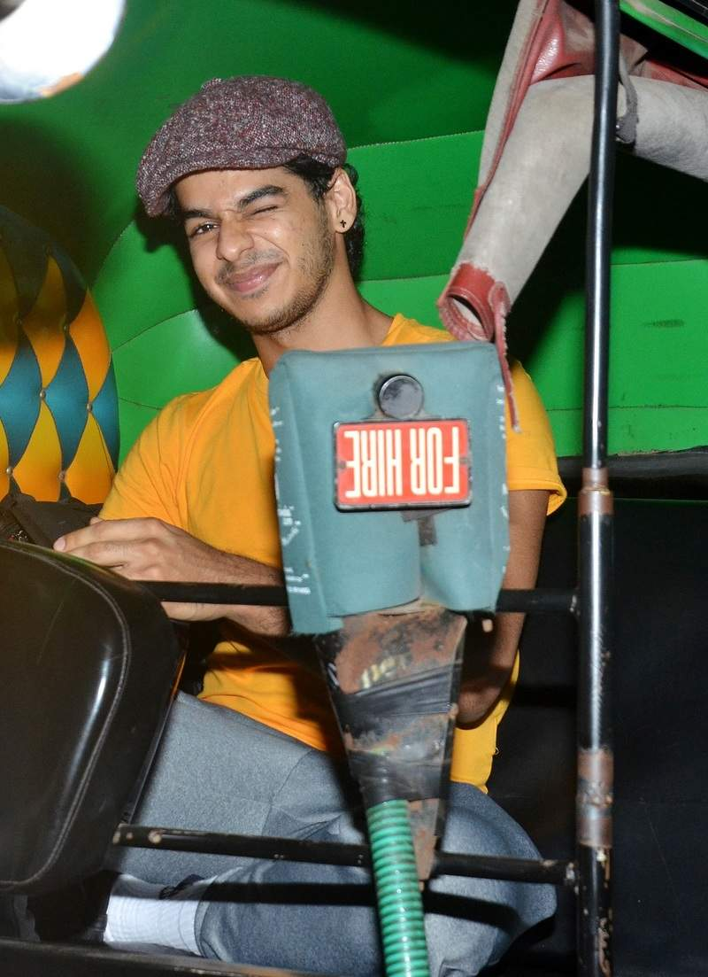 Ishaan Khatter's contagious wink for the shutterbugs