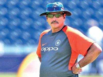 Coach Ravi Shastri gears up for the World Cup