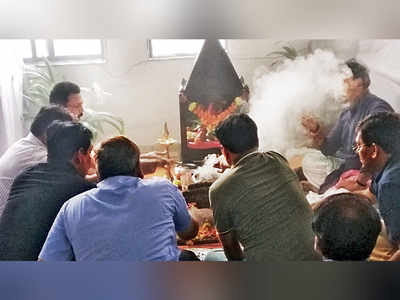 To overcome snags, CR seeks divine intervention, senior officials organise 'navagraha puja' after a string of incidents