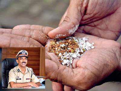 Pune cops move to crack down on thriving gutka trade in the city