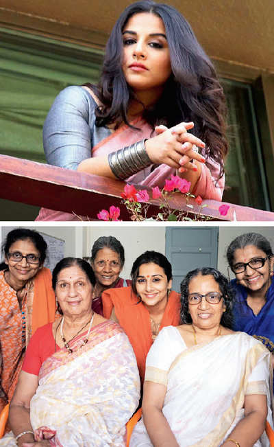 Vidya Balan-starrer Tumhari Sulu kicks off with a Pooja by the team members' mothers