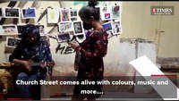 Bengaluru's Church Street comes alive with music, colours and more