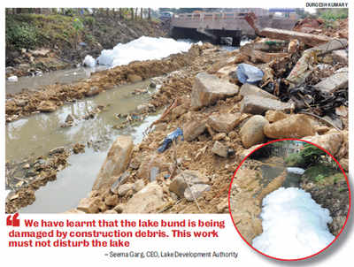 Breaking news: Here's how Bruhat Bengaluru Mahanagara Palike kills lakes. See it live in Varthur