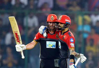 IPL 2018: AB de Villers, Virat Kohli's terrific performance power Royal Challengers Bangalore to a 5 wicket win