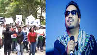 Protest outside Mika Singh's residence over his performance in Pakistan