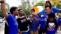 India vs WI 2nd T20I: Cricket fans throng Thiruvananthapuram stadium