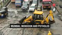 Navi Mumbai: Rain, potholes repairing cause traffic snarls near Turbhe Naka
