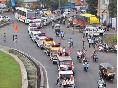 Farmers march from Nashik to Mumbai to take part in 'Kisan Gantantra Parade'