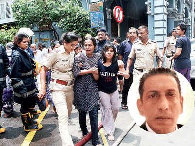 Churchill Chamber fire: How six firefighters saved a dozen Mumbaikars