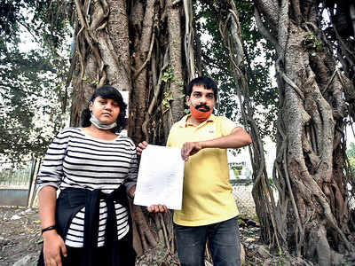 Citizens rally, try to save 63 trees from axe on Sinhagad Rd