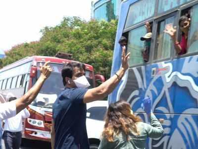 Maharashtra Governor lauds Sonu Sood for arranging transportation for migrant labourers