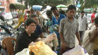 Siliguri: Free-food in exchange of 500 gram plastic