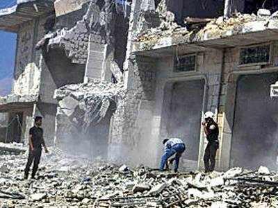 Syria and Russia resume Idlib and Hama air strikes