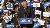 'I am back,' Bernie Sanders tells his supporters
