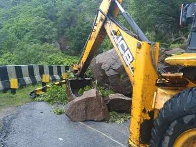 Mount Abu gets unusually high rainfall of 110 inches in four days