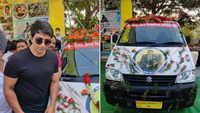 Sonu Sood inaugurates 'Sonu Sood Ambulance Service'