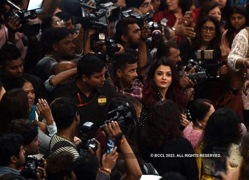 Aishwarya Rai Bachchan steps out for an event