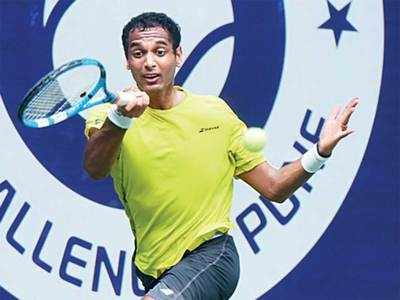 Ramkumar Ramanathan beats Sumit Nagal to make a 'singles' point